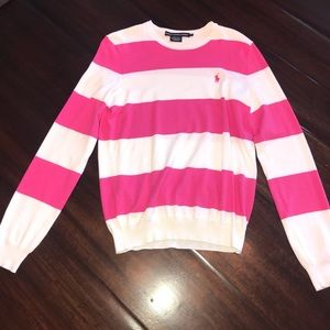 Stripped pull over\sweater